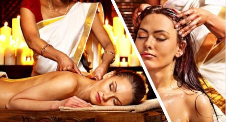 massage crânien indien et massage abhyanga